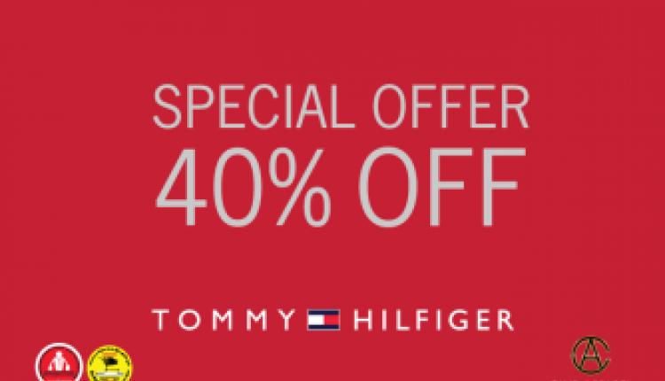 Up to 40% Sale at Tommy Hilfiger, December 2015