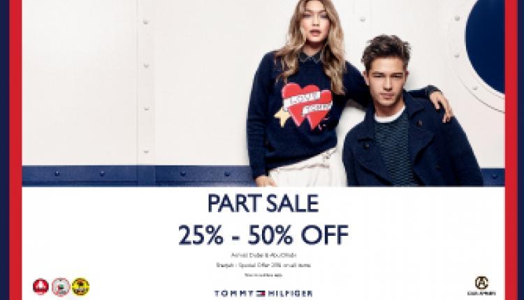 25% - 50% Sale at Tommy Hilfiger, November 2016