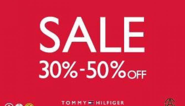 30% - 50% Sale at Tommy Hilfiger, July 2017