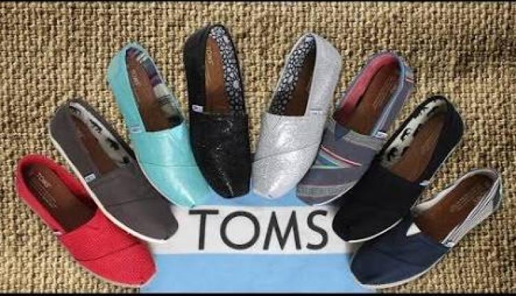 30% - 50% Sale at Toms Shoes, April 2017
