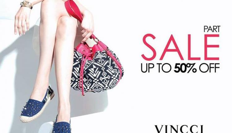 Up to 50% Sale at Vincci, November 2017
