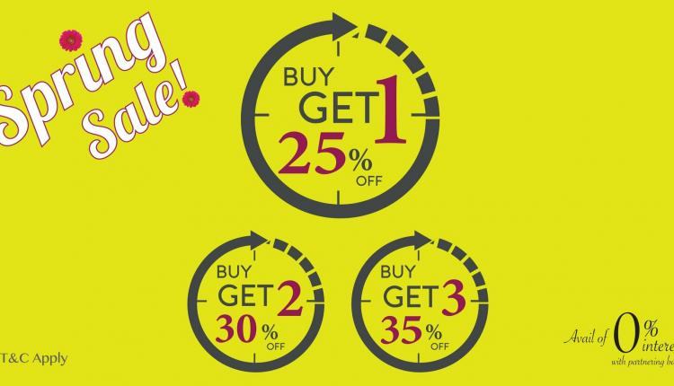 Buy 1 and get 25% off Offer at The Watch House, May 2018