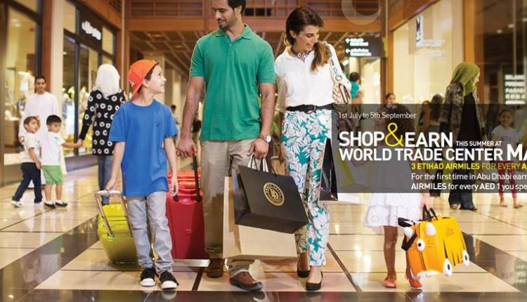 Spend 200 for a chance to win 1 of 4 family holidays overseas. Offer at World Trade Center Souk & Mall, September 2014