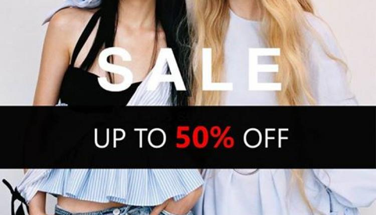 Up to 50% Sale at Zara, January 2018