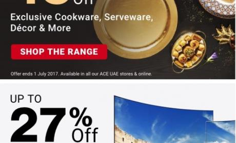 27% - 45% Sale at ACE, July 2017