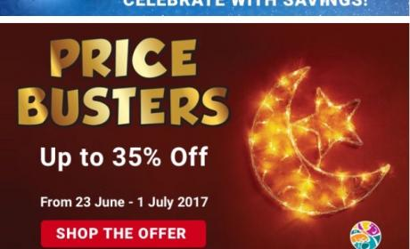 Up to 35% Sale at ACE, July 2017