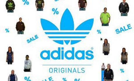 25% - 30% Sale at Adidas, May 2017