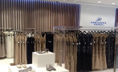 30% - 60% Sale at adrianna papell, August 2017