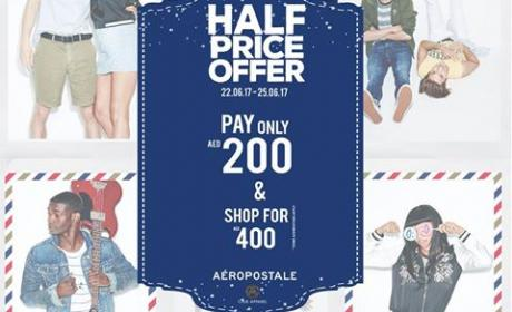 Special Offer at Aeropostale, June 2017
