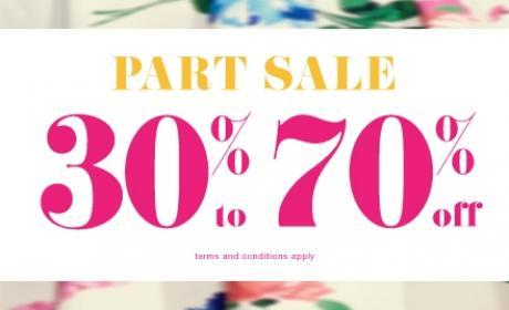 30% - 70% Sale at Aerosoles, May 2017