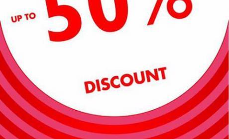 Up to 50% Sale at Al Jaber Optical, May 2018