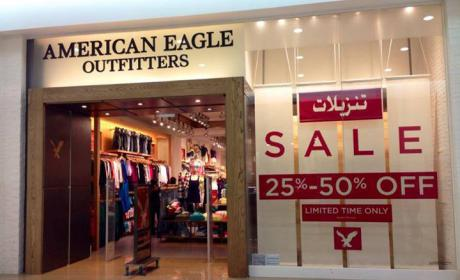 25% - 50% Sale at American Eagle Outfitters, July 2014