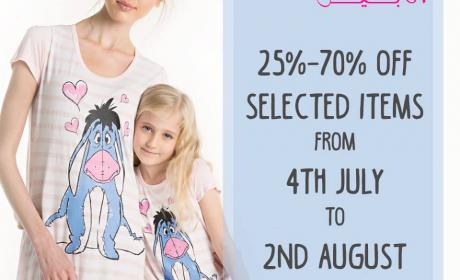 25% - 70% Sale at Annabelle, August 2017