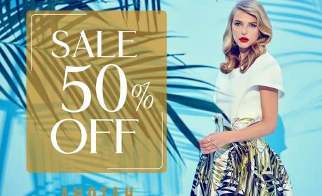 Up to 50% Sale at Anotah, September 2017