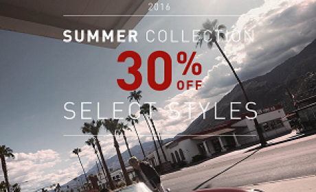 Up to 30% Sale at Armani Exchange, July 2016