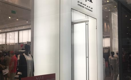 Spend 600 And save AED 100 on women's wear Offer at Armani Exchange, June 2017