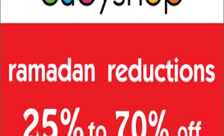 25% - 70% Sale at BabyShop, July 2016