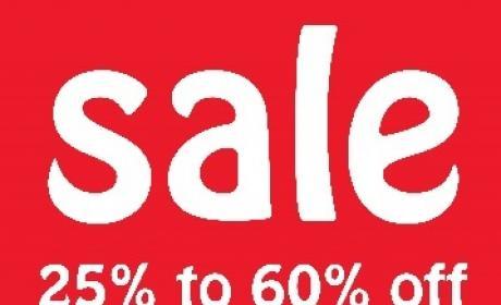 25% - 60% Sale at BabyShop, May 2017