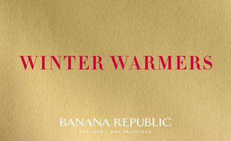 Up to 25% Sale at Banana Republic, December 2016