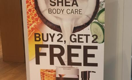 Buy 2 and get 2 Offer at Bath & Body Works, May 2017