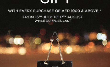 Spend 1000 and get a FREE bebe tote bag! Offer at Bebe, August 2014