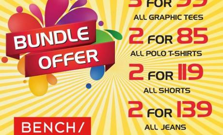 Special Offer at BENCH, June 2014