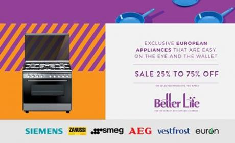 25% - 75% Sale at Better Life, October 2016