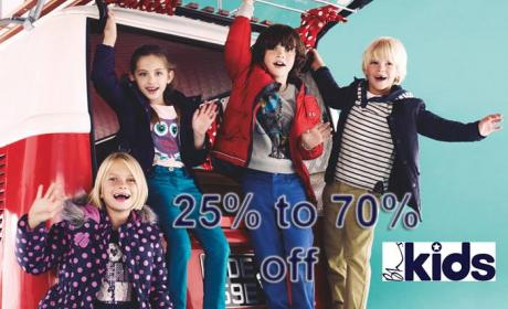 25% - 70% Sale at BHS Kids, February 2016