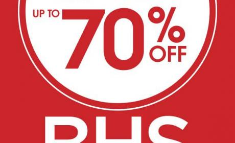 Up to 70% Sale at BHS, September 2014