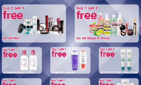 Buy 1 and get 1 Offer at Boots Pharmacy, June 2016