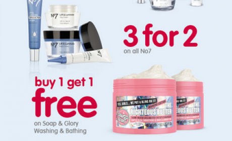 Buy 2 and get 1 Offer at Boots Pharmacy, November 2016