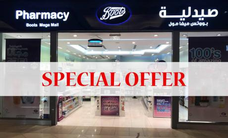 Buy 1 and get 1 Offer at Boots Pharmacy, May 2018