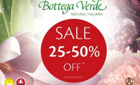 25% - 50% Sale at Bottega Veneta, August 2016