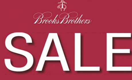 40% - 80% Sale at Brooks Brothers, November 2017