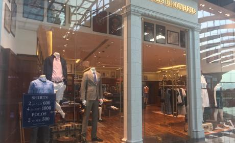 Special Offer at Brooks Brothers, June 2017
