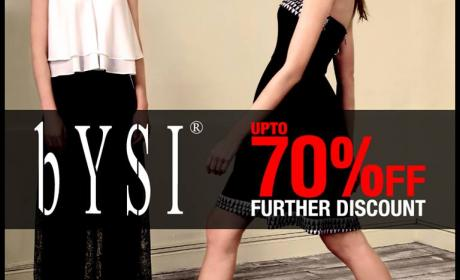 Up to 70% Sale at Bysi, September 2014