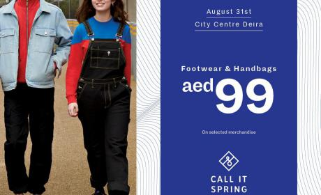 Special Offer at Call It Spring, August 2018