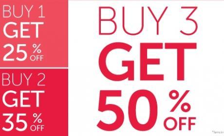 Buy 3 and Get 50% off Offer at Carpisa, November 2016