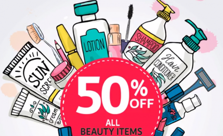 Up to 50% Sale at CARREFOUR, January 2018