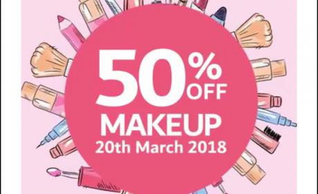 Up to 50% Sale at CARREFOUR, March 2018