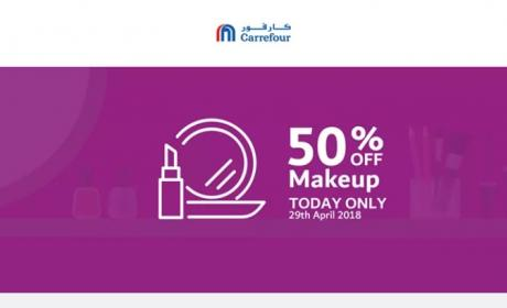 Up to 50% Sale at CARREFOUR, April 2018