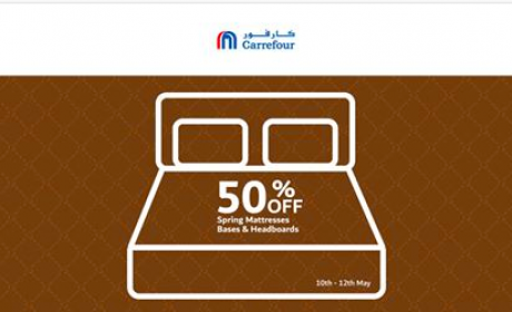 Up to 50% Sale at CARREFOUR, May 2018