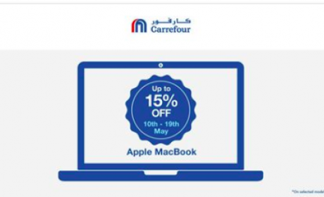 Up to 15% Sale at CARREFOUR, May 2018