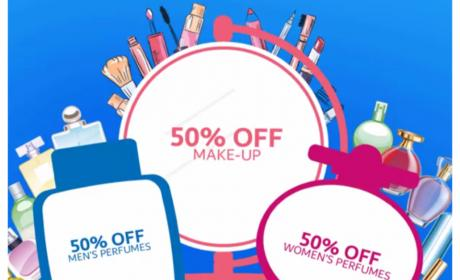 Up to 50% Sale at CARREFOUR, June 2018