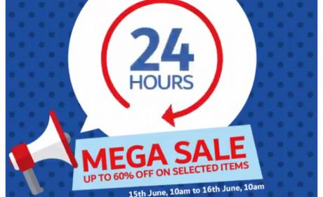 Up to 60% Sale at CARREFOUR, June 2018