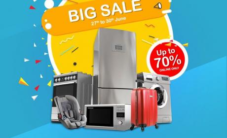 Up to 70% Sale at CARREFOUR, June 2018