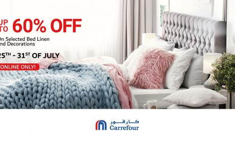 Up to 60% Sale at CARREFOUR, July 2018