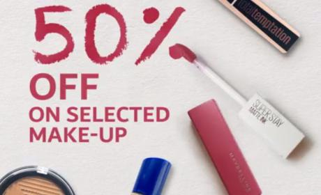 Up to 50% Sale at CARREFOUR, August 2018