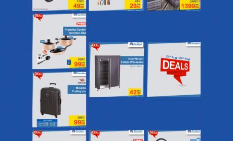 Special Offer at CARREFOUR, August 2017