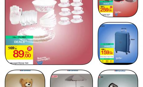 Special Offer at CARREFOUR, December 2017